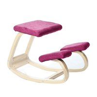 wooden chair - Original Ergonomic Kneeling Chair Stool Wood Posture Support Children Furniture Ergonomic Wooden Kneeling Chair Balancing Body