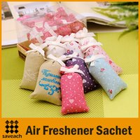 Wholesale Car Air Freshener Styling Sachet Air Freshener For Homes Fragrance Car High Quality Closets Dresser Air Freshener