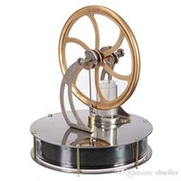 Wholesale High Quality Temperature Stirling Engine Motor Model Cool No Steam Education Toys Child Kid Gifts New A5