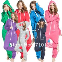 jump in - Solid adult onesie all in one piece jumpsuit jump in fleece zip hoody by Nordic Way rompers daffedress fleece unique hoodies