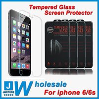 arc quality - iphone tempered glass Top Quality iphone s tempered glass Screen Protector MM H D Arc Explosion Proof