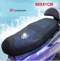 Wholesale 3D mesh seat covers Motorcycle Motorbike scooter Seat Covers Black Seat Cover breathable and heat insulation cm