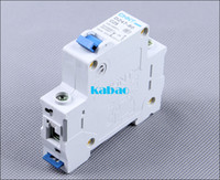 air circuit breakers - A one phase mini circuit breaker Home appliance air open switch