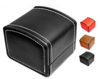 Wholesale BOSCK watch box SoCal high grade PU leather watches boxs flexible renovate packing box