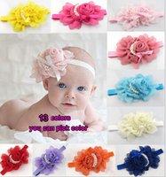 Wholesale 2015 HOT Big Flower Baby Headband Fashion Baby Headbands Kids Hair Ornaments Girl s Headwear