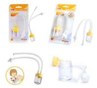 baby nose clean - Infant Safe Nose Cleaner Vacuum Suction Nasal Mucus Runny Aspirator High Quality hot baby care