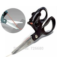 Wholesale Retail Sewing Fabric Laser Scissors Laser Guided Scissors Cut Straight Fast Accuracy