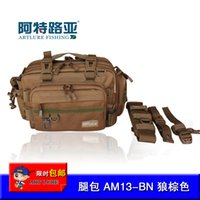 art lures - ART LURE Fishing Tackle Bag New Arrival Multifunctional Camouflage Waist Pack cm cm cm Large Capacity Fishing Lure Bag