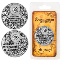 bathroom dollar - New arrival antique tin coins Russian dollar coins rouble copy high quality customized products gift crafts
