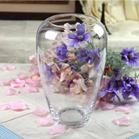 glass fishbowl - Yimeijia crystal glass vase fishbowl modern hydroponic flower living fashion ornaments glass flower
