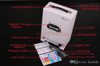 Wholesale new F102 portable boxtype skin scope examination lights Skin analyzer Diagnosis UV lamp facial Scanner Machine