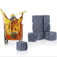 Wholesale Whisky Stones Whisky Rock Wedding Gift Favor Bar Whisky Stones for Whiskey Whisky Stone Natural Whiskey Stones Set Sipping