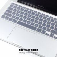 silicone keyboard cover - LENTION Macbook Keyboard Cover Skin Protective Film For Macbook Pro Macbook Air inch Soft Durable Silicone Dustproof