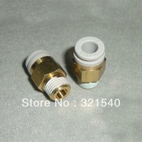 Wholesale Lot5 Replace SMC KQ2H06 S Pneumatic Tube Fittings mm quot BSPT One Touch Push In Brass Male Tube Straight Union Connector order lt no trac