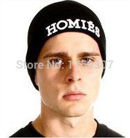 homies - Top Embroidery Homies Beanie Winter Skullies Street Hip hop Hats For Homies Black Color