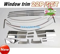Wholesale 2015 NEW FOR HONDA HR V VEZEL CROSSOVER SUV Car body stainless window upon buttom trim decoration p free ship
