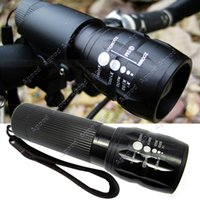 Wholesale 240 Lumen Zoomable Focus Flashlight Torch Q5 Cycling Bike Bicycle LED Front Head Light SV005021