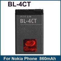 al por mayor bl 4ct-Ahorre 5% BL-4CT BL4CT Batería 860mA para Nokia 2720 Fold 5130 5310 5630 XM 6600 7210 7310 7230 X3 Teléfono Batería Akku