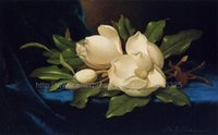 Cheap Giant Magnolias oil paintings on canvas classic home decorations wall Abstract Living room background home interior