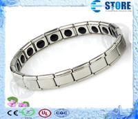 big germanium - Quantum Energy Titanium Bracelet with Big Germanium Rolling Stones Magnetic Health Jewelry