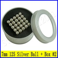 Wholesale New mm Nickel Silver BuckyBall DIY Toys Cube Neodymium Magnet Sphere Puzzle N35 Neo cube Funny Magnetic Balls