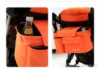 Wholesale 2015 Stroller Accessories Waterproof Baby out dirty clothes Cartoon storage bag stroller organizer bags Hung Bag Car Container Bags