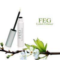 Wholesale FEG EYELASH ENHANCER Eyes Eye Lash Rapid Growth Serum Natural Day Supply Eyelash Growth Treatments Makeup Free Ship