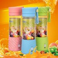 Jus 2PCS HHA478 électrique Coupe du citron tasse Mini Blender fruitvegetable portable avec chargeur USB bouteilles Carry tasse Cadeaux d'eau de fruits frais