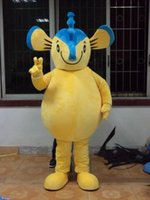 arm ad - 2016 hot sale Mascot Lovely Blue Yellow Seahorse Hippocampus Mascot Costume With Yellow Belly Short Arms Legs Long Volume Tail Ad