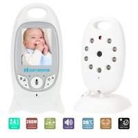 Wholesale VB601 Baby Monitor in LCD GHz Wireless with IR LED Two way Talk Lullabies Temperature Monitor VOX Mode order lt no track