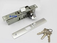 aluminum frame glass doors - Metal frame glass door aluminum door latch bolt bolt lock