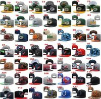 Wholesale 2015 New Hot Mens More Style Sports ball Caps Adjustable Football Hats Snapbacks Find hats caps for your favorite teams