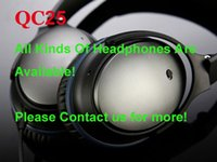 Wholesale 2014 New QC25 Headphones Headset DJ Headsets Retail Package Headphones Headset Noise Cancelling Flydream