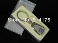 Wholesale 5 X New Car logo D Keychains METAL KEY CHAIN Ring For Auto Car With Gift Box Free shiping By Post Air Mail order lt no track
