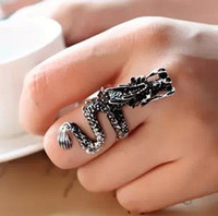 Cheap vintage women rings jewelry Best fashion antique silver palted rings