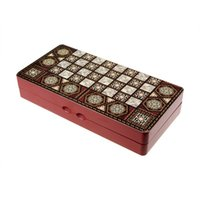 Wholesale 2 in folding wooden backgammon and chess
