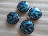 Wholesale Special offer car styling mm VW Jetta Golf Volkswagen Emblem Wheel Hub Center Caps Covers