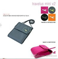 Wholesale 2015 Organizer Bag Pouch Wallet Credit card Passport card Handbag Makeup Purse Travel Bag Shoulder Bag LB5