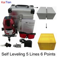 Wholesale KaiTian Rotary Laser Level with Outdoor Tilt Function Euro Plug nM Lazer Level Line Point Self Leveling Cross Line Level