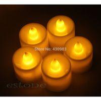 Wholesale alex New Flickering Flicker Light Flameless LED Tealight Tea Candles Wedding Light