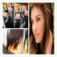 Chinese Hair yaki weave hair - 5pcs sBlended hair ensationnel weave Premium Now Hair Yaki weave Extension Premium Weft Straight Hair16 quot quot