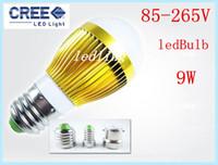 Wholesale LED High power Cree W Led globe Bulb E27 E14 GU10 B22 LED Bubble ball lamp led light lighting spotlight CE ROHS