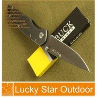 best buck knife - Buck DA14 HRC Cr13 Plating Titanium Blade Pocket Hunting Knife Best Gift
