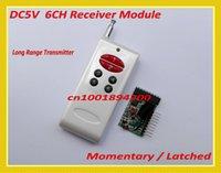 Wholesale 6CH Decoding RF Receiver Module Transmitter M Wireless Remote Control Module M6 L6 TTL CH