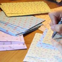 Wholesale 24pcs of Paper Cute Envelopes Floral Little Horse Rabbit Gift Envelopes