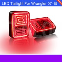 Wholesale The newest Type LED Taillight For Wrangler European Type