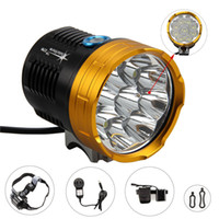 Wholesale 15000LM x CREE XML XM L T6 LED Cycling Bicycle Ultra bright Bike Light Lamp Battery charger set