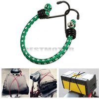Wholesale Green inch cm Heavy Duty Strong Bungee Cord Elastic Lage Strap Rope Hook mm