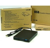 Wholesale 50pcs MB USB External Portable Floppy Disk Drive with retail package box