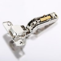 Wholesale 1 Pair Inset Hydraulic Cabinet Hinge Stainless Steel Hinge Soft Close Brass Buffering Clip on Base MTY3